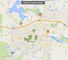 Map St Petersburg Florida by How Ev Charging Station Networks Compare City To City Maps