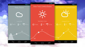 weather apps free android weather is a free minimalist weather app for android
