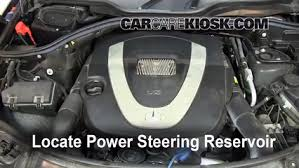 hyundai elantra power steering fluid check power steering level mercedes ml350 2006 2011 2007