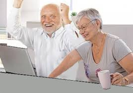 Man On Computer Meme - 10 funniest harold memes on the internet socawlege