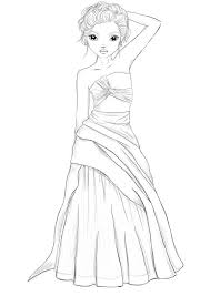 fashion model coloring pages 26 best ausmalbilder images on pinterest coloring books