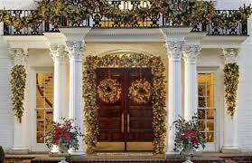Luxury Homes Decorated For Christmas Outdoor Decorating For Christmas Withal Large Outdoor Christmas