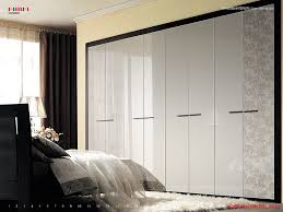 Bedroom Furniture Laminates Luxury Wardrobe Design External Frame Openable Doors High