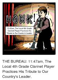 Clarinet Player Meme - 1147am the local 4th grade clarinet player practices his tribute to