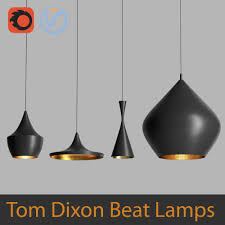 3d tom dixon beat black turbosquid 1153450
