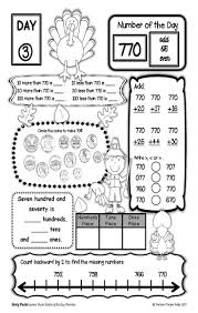 thanksgiving activity sheets for kindergarten 113 best number of the day images on pinterest teaching