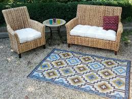 Royal Blue Outdoor Rug Amazon Com Fab Habitat 4 Feet By 6 Feet Lhasa Indoor Outdoor Rug