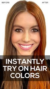 how to see yourself in a different hair color hair color studio premium android apps on google play