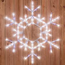 phenomenal snowflake lights led blue outdoor