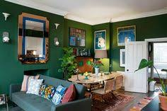 green dining room ideas luke edward duncan cbell s flat wooden furniture