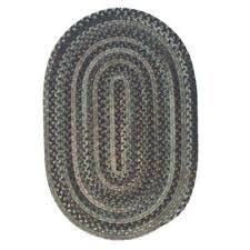 braided oval area rugs rugs the home depot