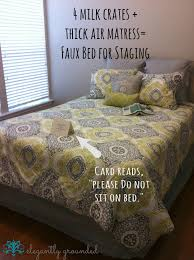 fake a bed for staging use buyer psychology to stage a home by