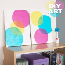 Diy Paintings For Home Decor Super Easy Diy Canvas Painting Ideas For Artistic Home Decor