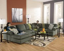 corner chaise sofa signature design by ashley jessa place pewter casual sectional