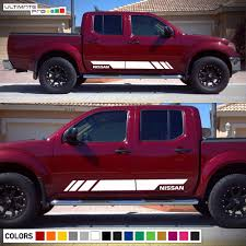 lifted nissan frontier white nissan frontier decals ebay