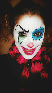 17 best my makeup images on pinterest halloween make up clowns