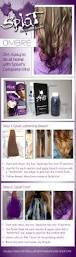 Best Temporary Hair Color For Dark Hair Best 25 Purple Hair Without Bleaching Ideas Only On Pinterest