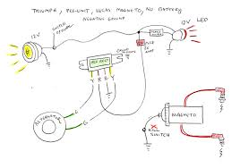 wiring diagram 4 triumph w hunt magneto page 2 the jockey