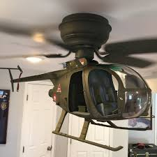 helicopter ceiling fan for 10 super cool custom ceiling fans smosh