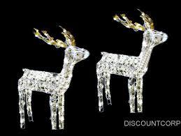 lawn reindeer with lights christmas lighted reindeer christmas decor inspirations
