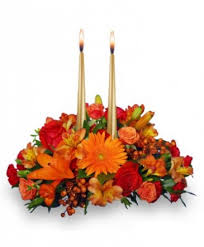 thanksgiving unity centerpiece in bowling green mo bouquet florist