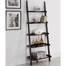 Slanted Bookcases Get The Look Leaning Ladder Shelves Apartment Therapy