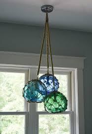 glass fishing float pendant light glass fishing float cluster pendant light for a beach home home