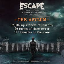 2017 top 705 put enter the twisted of the asylum at escape psycho circus