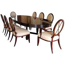 baker dining room chairs dining table with x back dining chairs by barbara barry for baker