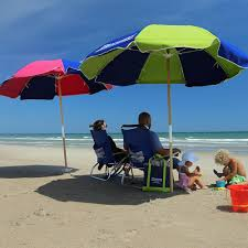 Lightweight Beach Parasol Rent Beach Gear Emerald Isle Vacations Bluewaternc