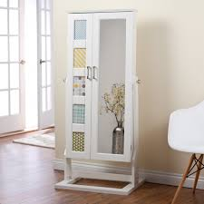 Ikea Wall Mount Jewelry Armoire Furniture Awesome Mirrored Armoire For Bedroom Furniture Ideas