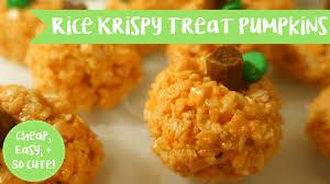 rice crispy treat pumpkins rice krispy treat pumpkins margot carmichael