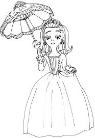 sofia coloring pages amber coloring princess sophia