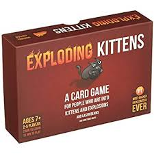 do mtg cards on amazon go on sale for black friday exploding kittens a card game about kittens and explosions and
