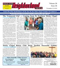 wesley chapel neighborhood news issue 26 dec 18 2015 by