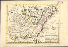 Map Of America by A New Map Of Ye North Parts Of America Claimed By France Under Ye