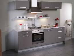 couleur tendance pour cuisine cuisine grise quelle couleur pour les murs meuble de blanc et gris