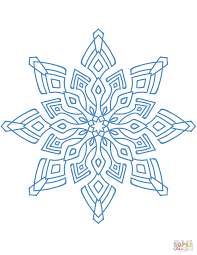snowflakes coloring pages free coloring pages