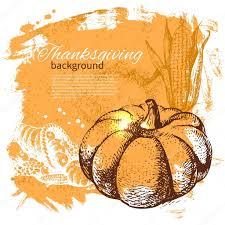 vintage thanksgiving day stock vector pimonova 34287551