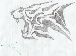 my first tattoo sketch by fecklessnz on deviantart