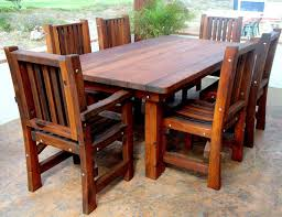 Decor Of Wood Patio Chairs Home Sweet Made Wooden Tables And