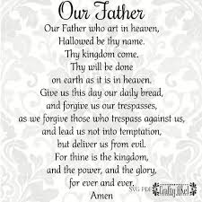 our father the lord u0027s prayer svg pdf files vector clipart