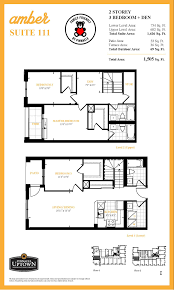 familyfriendly suite of the week suite 111 at amber condominiums one of our floorplans at amber condominiums that has gotten a significant amount of attention in recent weeks is suite 111 a new release two storey suite