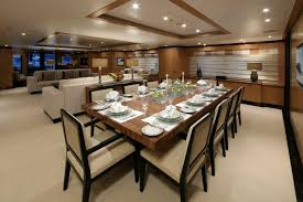 amnesia u0027s formal dining room u2013 superyachts news luxury yachts