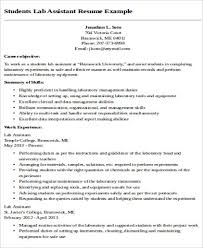 Teacher Assistant Resume Sample Skills by Sample Teaching Assistant Resume 9 Examples In Word Pdf