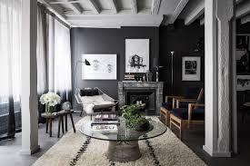 maison home interiors noir all in lyon mydomaine
