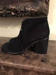 s suede ankle boots size 9 dkny black suede ankle boots size 9 39 ebay