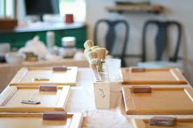 kitchen cabinet chalk paint class by eco chic boutique bismarck nd