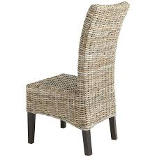 dining chair woven rattan dining room chairs rustic dining room