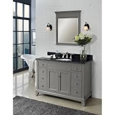 16 Inch Bathroom Vanity by Bathroom Mid Century Grey 48 Inch Vanity
